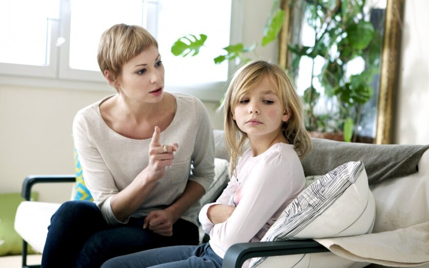Frazės, padedančios susikalbėti su piktu vaiku
