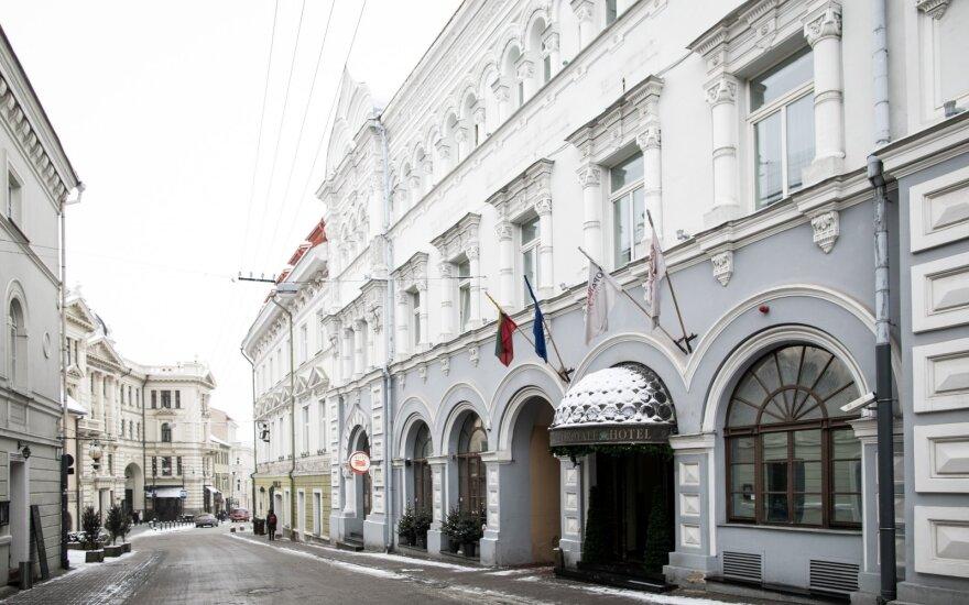 Vilniuje krito viešbučių užimtumas ir pajamos