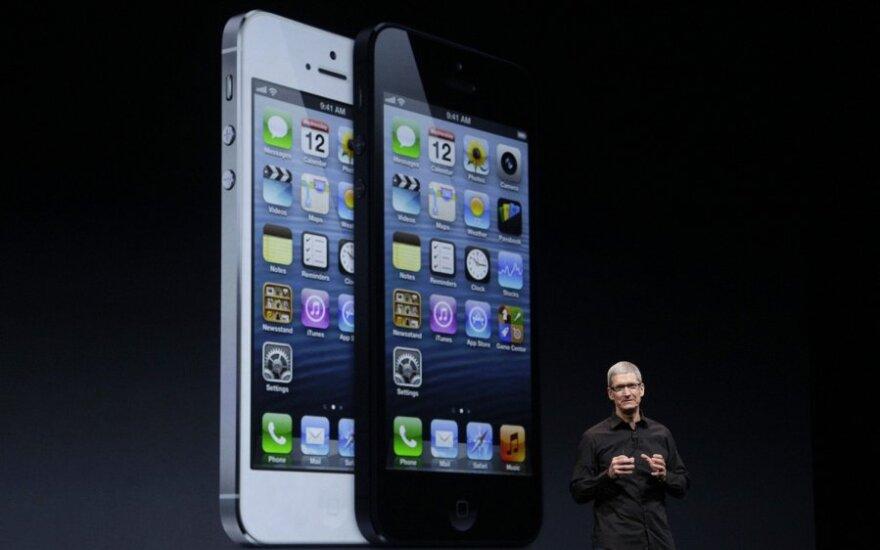 """""""iPhone5"""" pristatymas"""