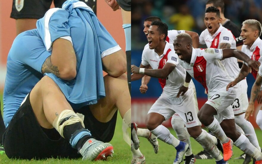 Luisas Suarezas, Peru futbolininkai