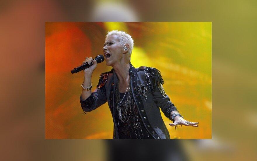 """""""Roxette"""" vokalistė Marie Fredriksson"""
