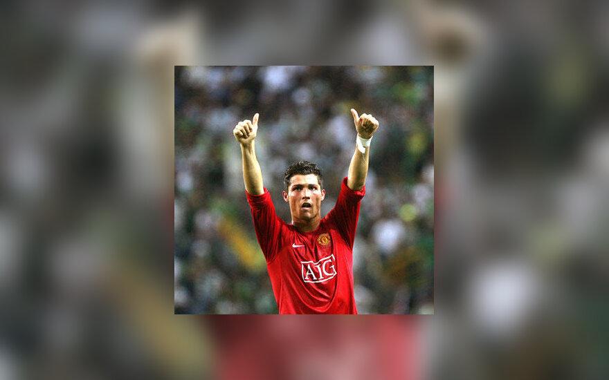 """Cristiano Ronaldo (""""Manchester United"""")"""