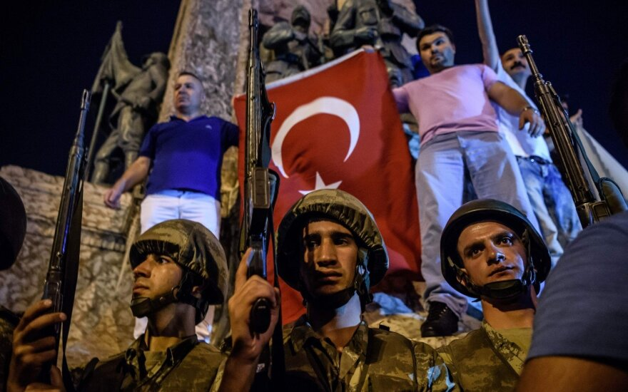 The coup in Turkey