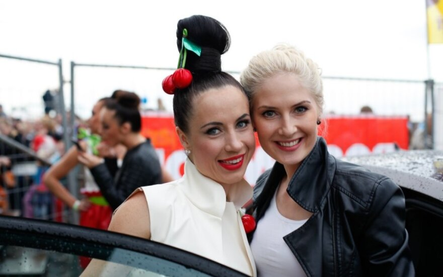 Ingrida Kazlauskaitė ir Kristina Ivanova