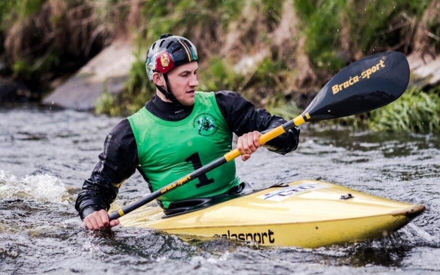 Mantas Atmanavičius / Foto: Lietuvos BKI slalomo organizatoriai