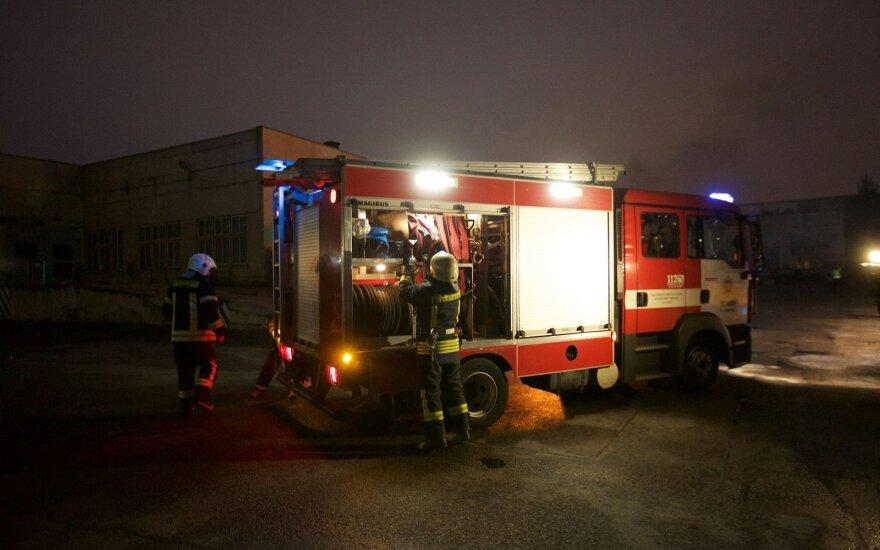 Per gaisrą Panevėžio rajone žuvo žmogus