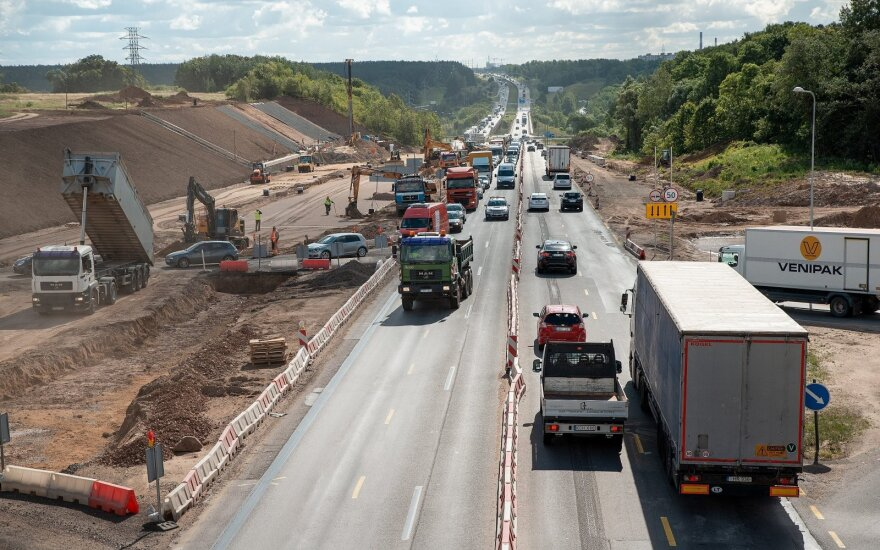 A1 rekonstrukcija Kaune