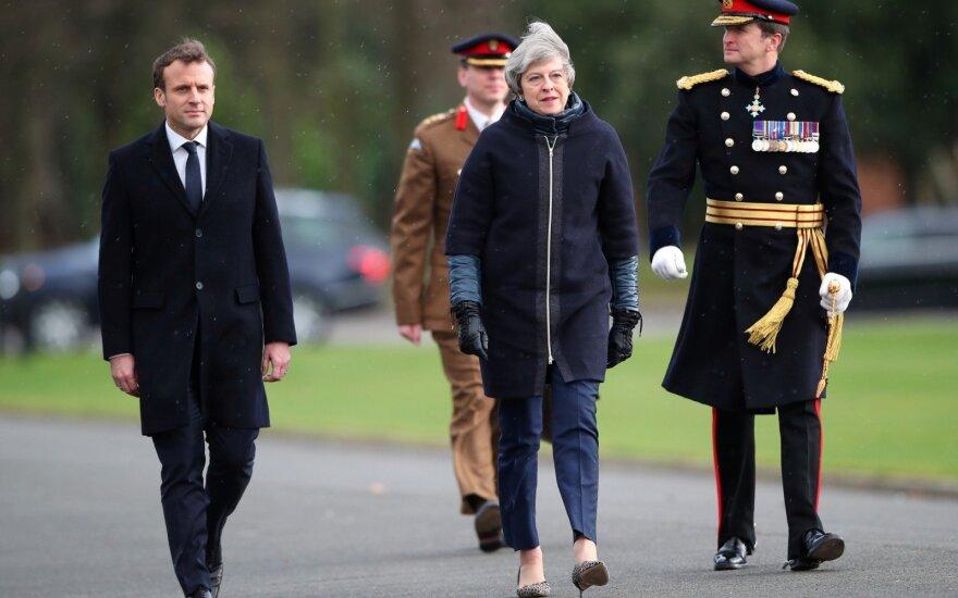 Londonas, Berlynas ir Paryžius ragina Vašingtoną nesitraukti iš susitarimo dėl Irano