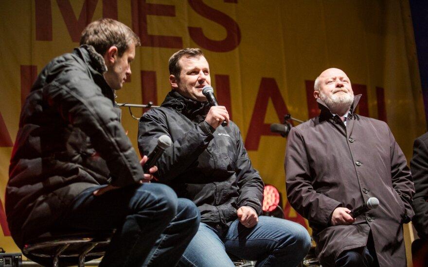 Andrius Tapinas, Gintautas Paluckas, Eugenijus Gentvilas