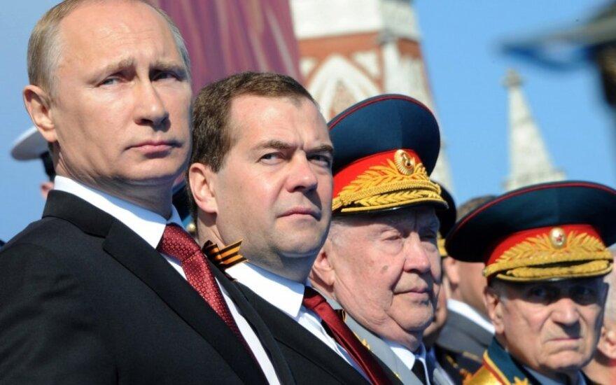 Pergalės dienos paradai - ne vienintelis V. Putino reanimuotas sovietinis reliktas