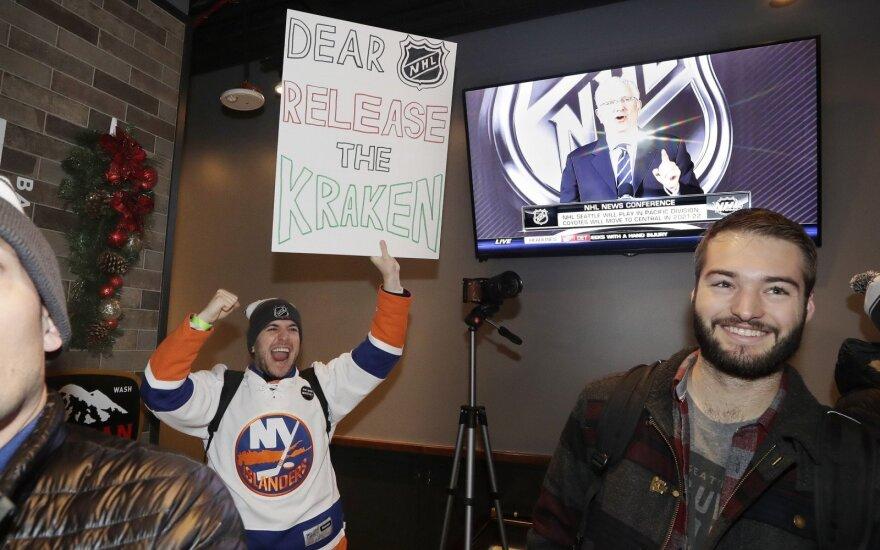Sietlo klubas už 650 mln. dolerių pretenduoja į vietą NHL čempionate