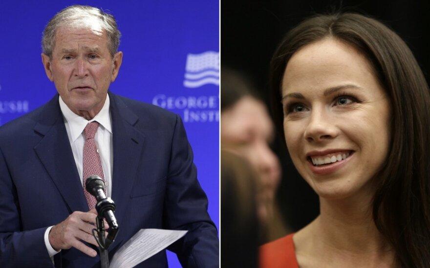 George'as W. Bushas ir Barbara Bush