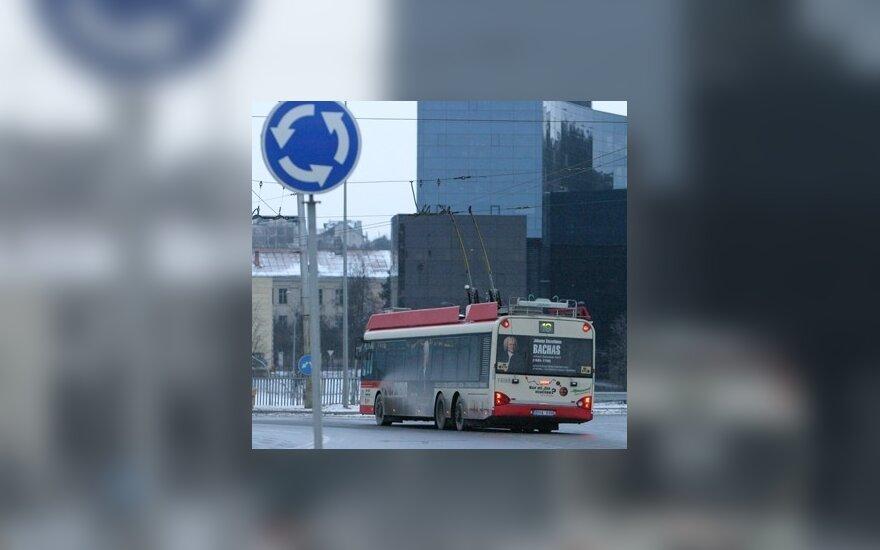 Vilniuje galvojama atsisakyti kai kurių viešojo transporto maršrutų