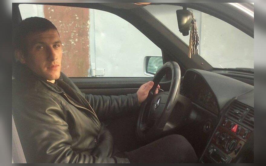 Tolimųjų reisų vairuotojas  Vladimiras Sidarčiukas