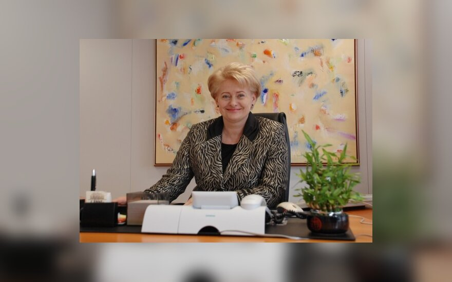 D.Grybauskaitės biografijos paraštės: krepšinis, dvejetai ir baudos už greitį