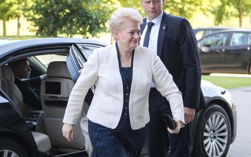 J. Neverovičius sulaukė prezidentės skambučio