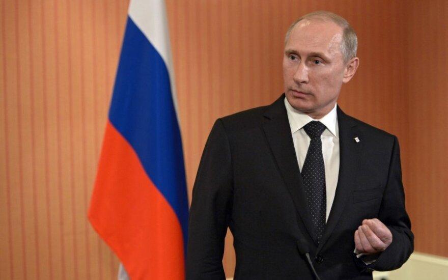 Trečiadienį – V. Putino kreipimasis