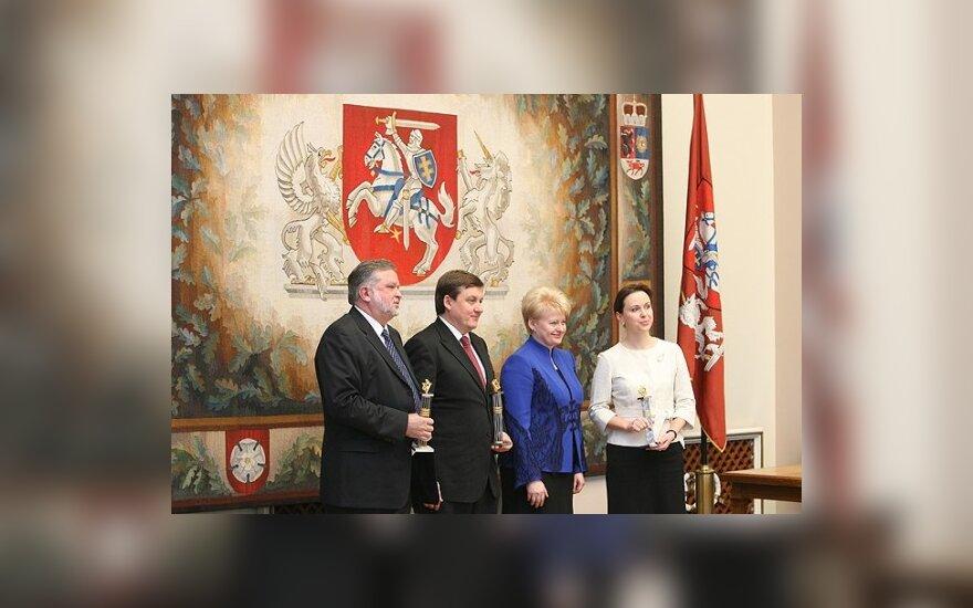 Įteikti Verslo šlovės galerijos apdovanojimai