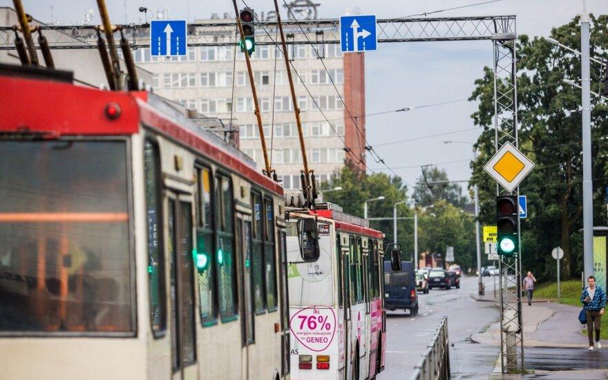 Valstybinių švenčių dienomis - nemokamas viešasis transportas sostinėje