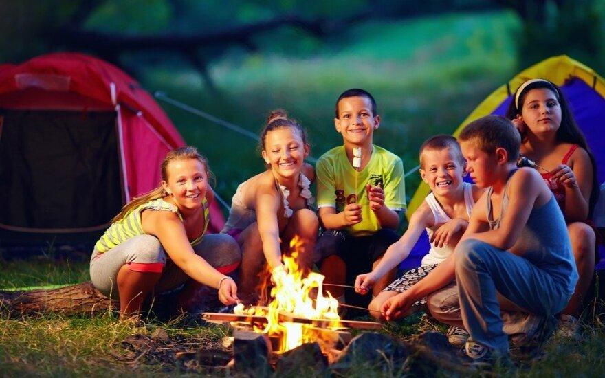 Kaip vaikui padėti pasirengti stovyklai?