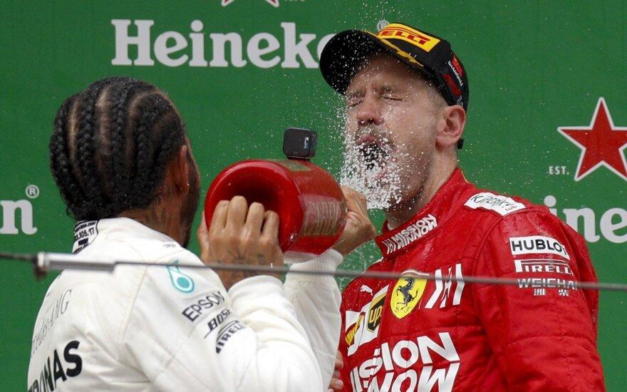Lewisas Hamiltonas, Stebastianas Vettelis