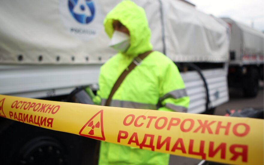 Keturios radiacijos lygį stebinčios Rusijos stotys liovėsi dalytis duomenimis