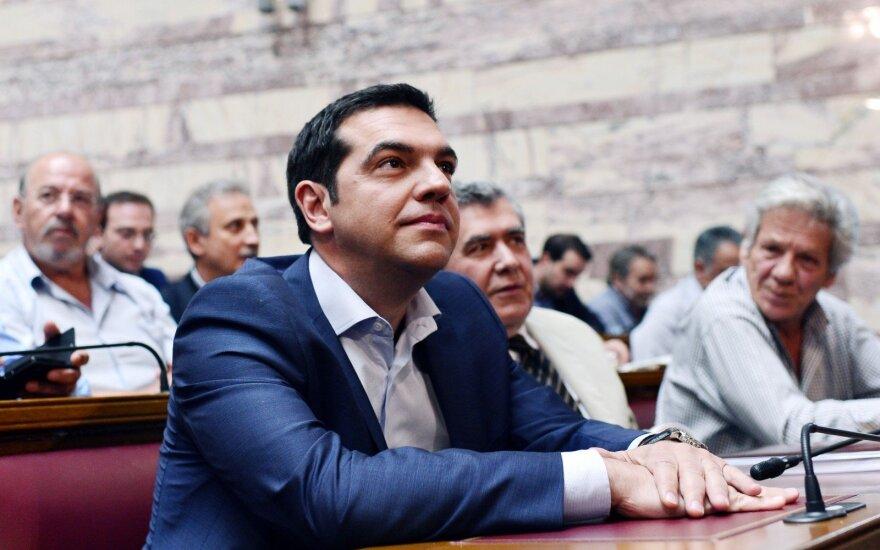 Graikijos premjeras žada palengvėjimą po ilgų taupymo metų