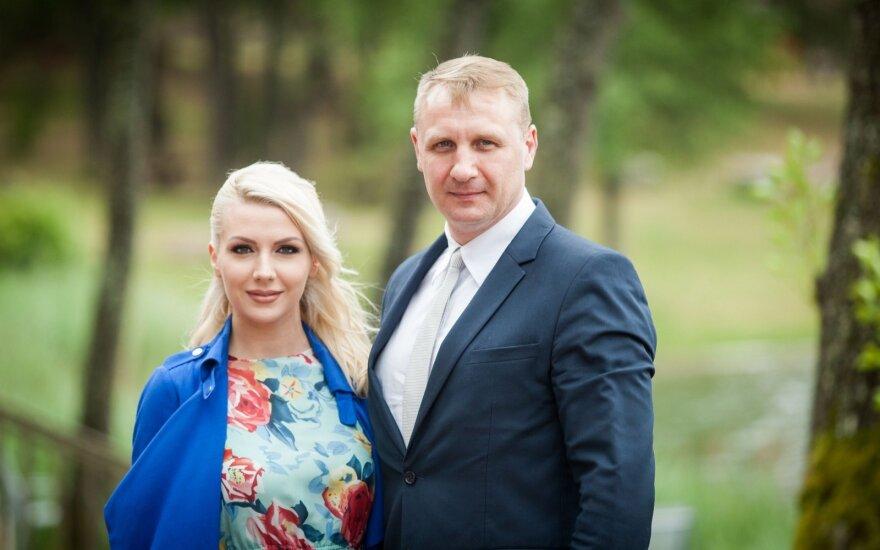 Monika Šedžiuvienė, Andrius Šedžius