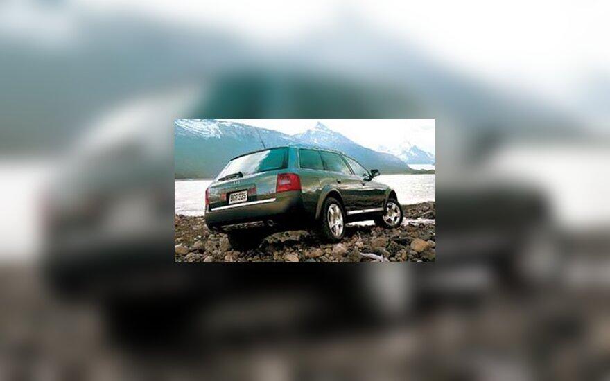 """""""Audi Allroad"""" automobilis"""
