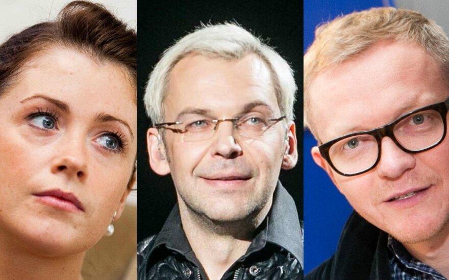 Erica Jennings, Aras Vėberis, Juozas Liesis