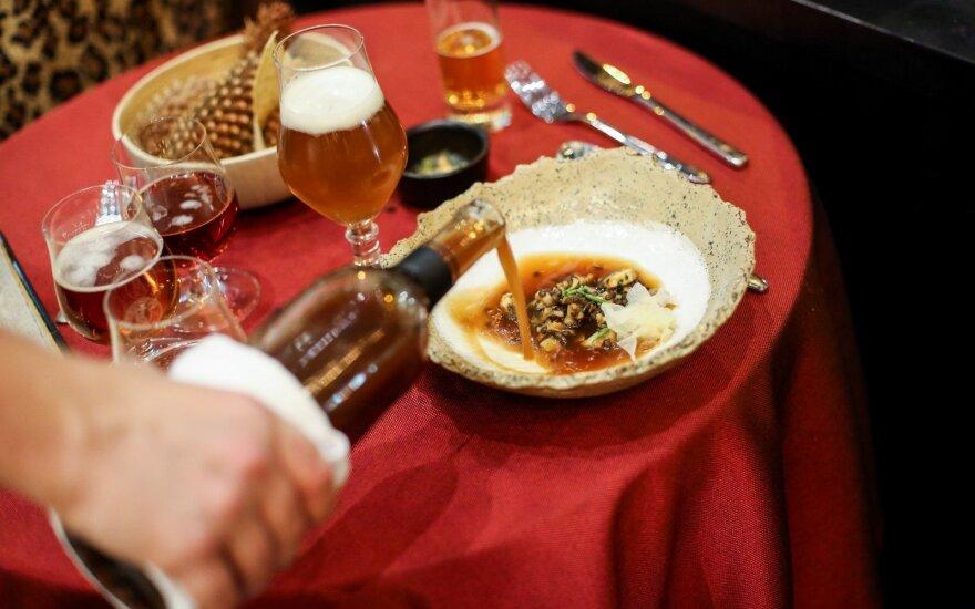 Deivydo Praspaliausko ir Jono Lingio degustacinė vakarienė