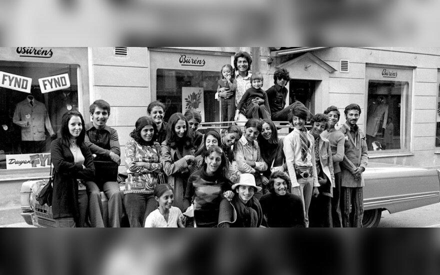 Osama bin Ladenas 1971 m. su šeima