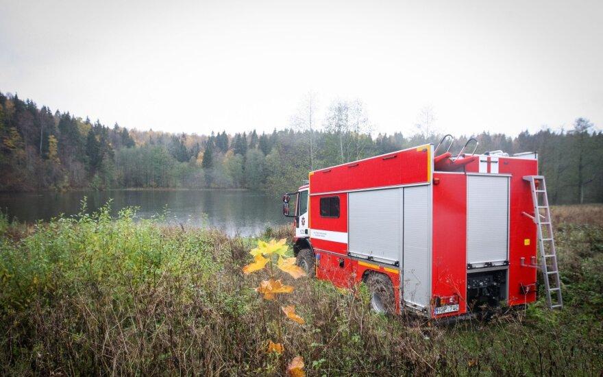 Vilniuje, netoli Grigiškių upėje rastas negyvo vyro kūnas