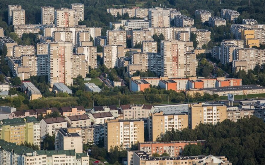 Lietuvos banko apklausa: spartesnio NT kainų augimo nesitikima