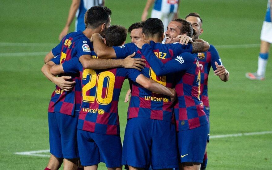 """""""Barcelonos"""" futbolininkai"""