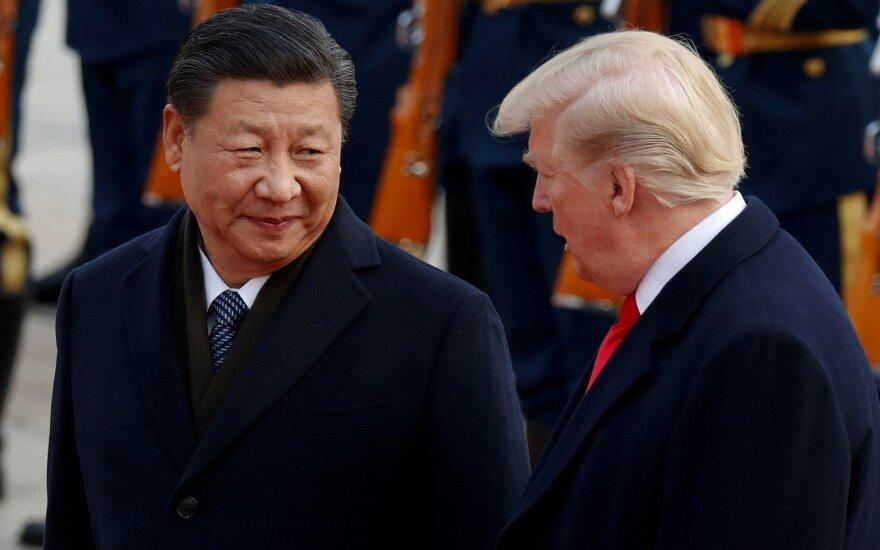 Xi Jinpingas ir Donaldas Trumpas
