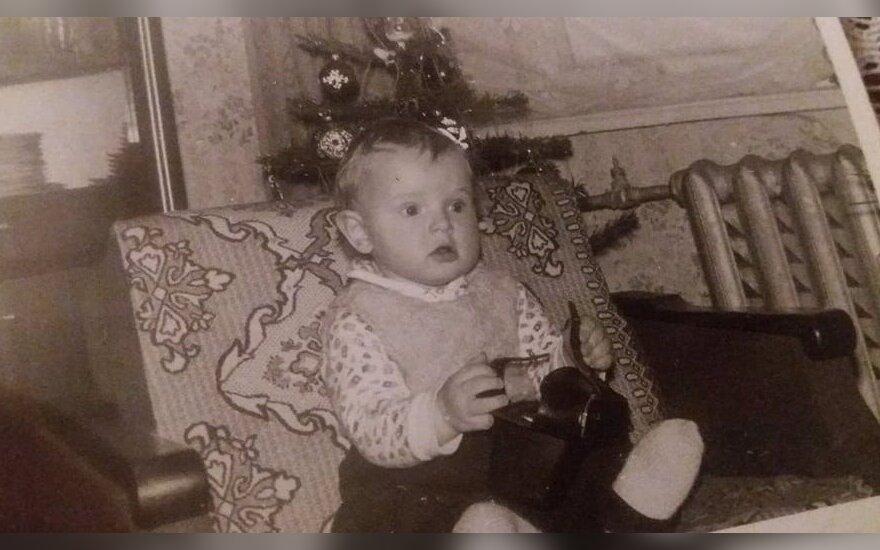 Paulius Ambrazevičius vaikystėje