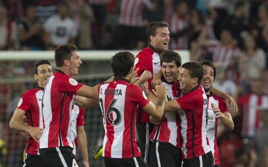 """Bilbao """"Athletic"""" futbolininkai"""