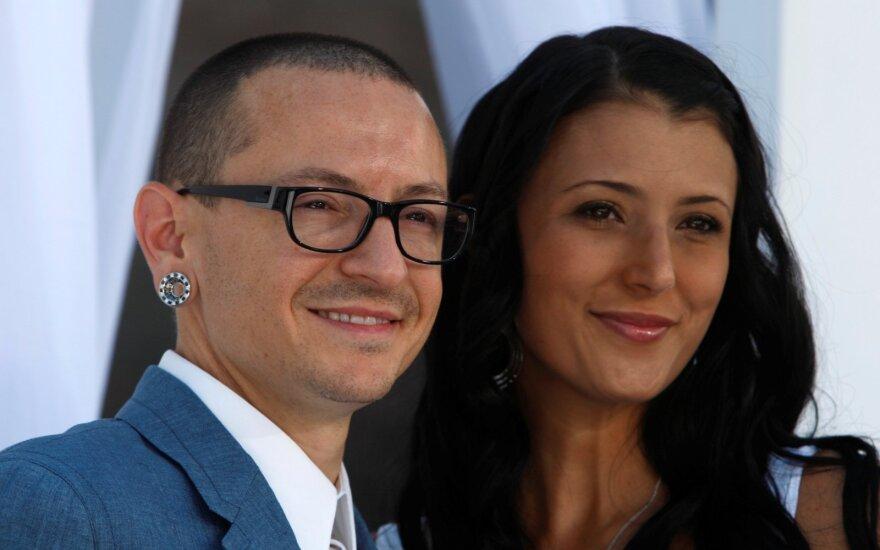 Chester Bennington su žmona Talinda