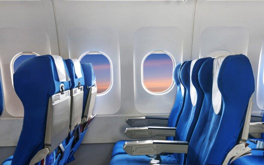 Sukurtos išmaniosios lėktuvų kėdės – sprendimas, leisiantis keliaujant pamiršti diskomfortą