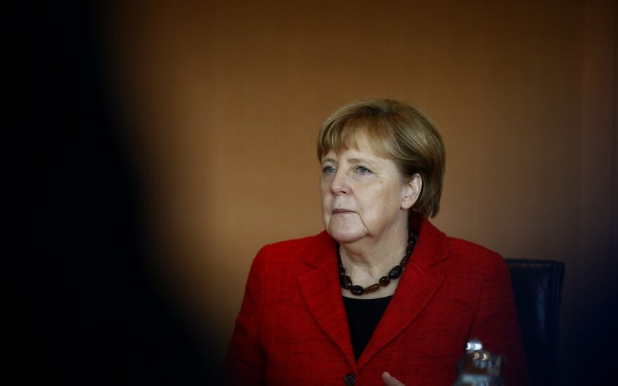 A. Merkel: Vokietija turi išmokti tvarkytis su Rusijos kibernetinėmis atakomis