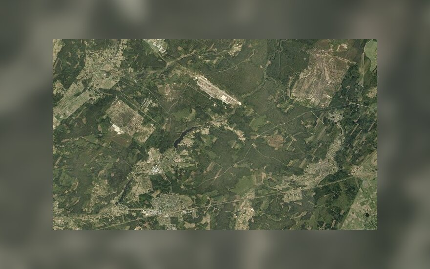 Ortofoto - Kazlų Rūdos apylinkės