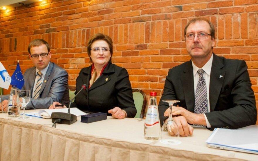 Vytautas Gapšys, Loreta Graužinienė ir Viktoras Uspaskichas