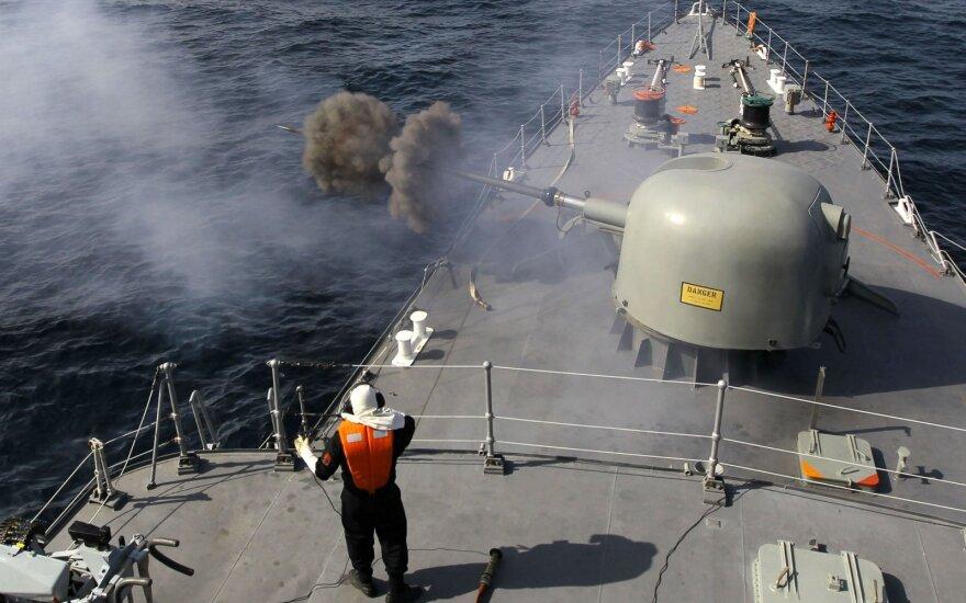 Irano pajėgų pratybos Persijos įlankoje