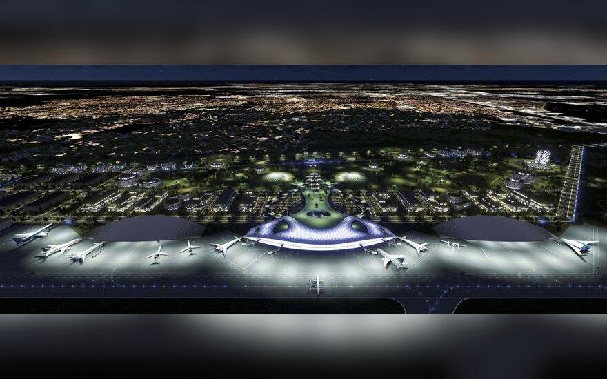 Hiustono erdvėlaivių uosto projektas