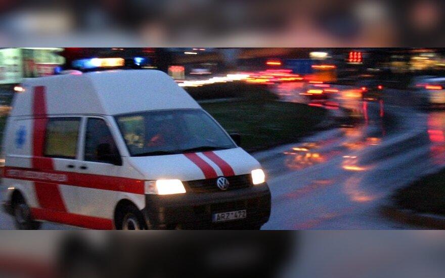 Vilniuje, pėsčiųjų perėjoje, neblaivus vairuotojas partrenkė 80-metę