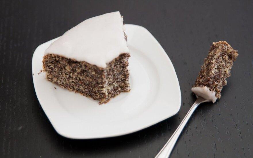 Fantastiškas aguonų ir migdolų pyragas