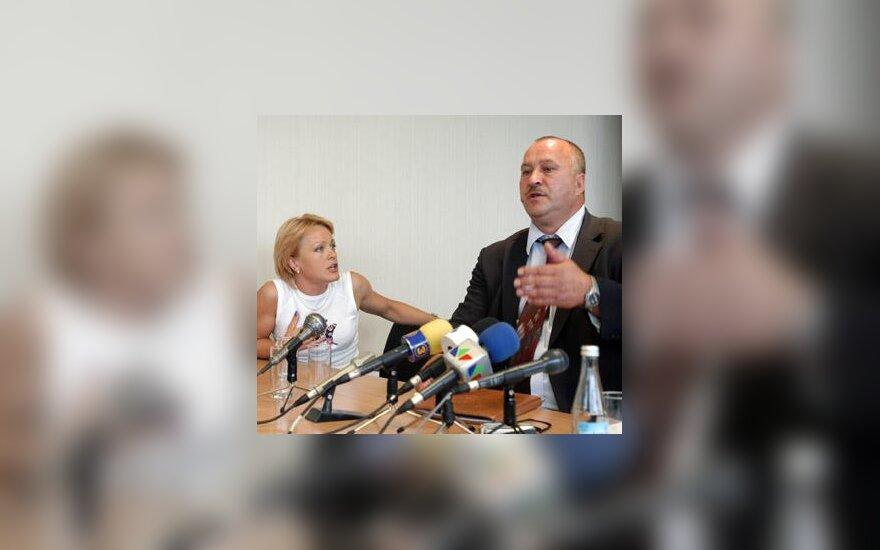 Diana Žiliūtė ir Valerijus Konovalovas