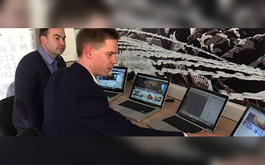 P. Paškevičius su partneriais įkūrė įmonę, kuri internetu moko vaikus programuoti