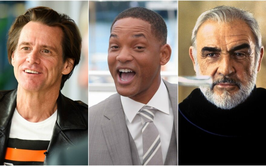 Jim Carrey, Will Smith, Sean Connery